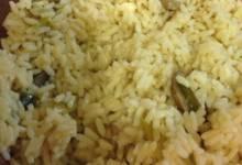 quick mushroom rice