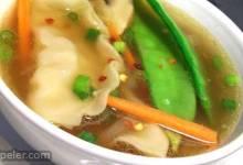 Quick Pot Sticker Soup