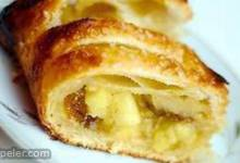 Quick Puff Pastry Apple Strudel