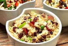 Quinoa, Grape, and Prune Salad