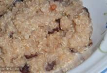 Quinoa Prune Breakfast Porridge