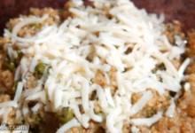 quinoa with peas
