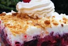 raspberry cebox cake