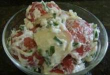 Red Potato Salad with Sour Cream and Chives