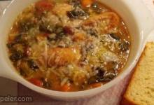 Ribollita (Reboiled talian Cabbage Soup)