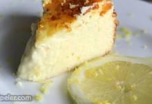 Ricotta and lemon cheesecake