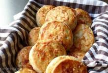 rish Cheddar Spring Onion Biscuits