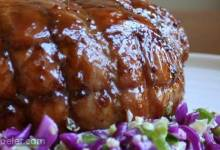 Roast Pork with Maple and Mustard Glaze