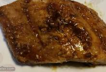 roast salmon with balsamic vinegar