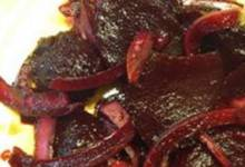 roasted and pickled beets