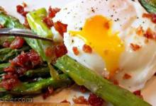 Roasted Asparagus Prosciutto and Egg