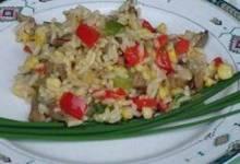 Roasted Corn and Basmati Rice Salad