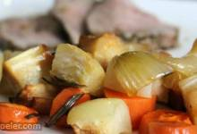 Roasted owa Root Vegetables
