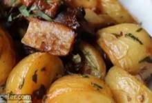 Roasted Wild Mushrooms and Potatoes