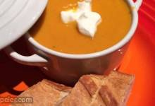 Rockin Carrot, Sweet Potato, and Ginger Soup