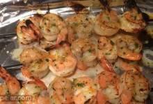 Rum Glazed Grilled Shrimp