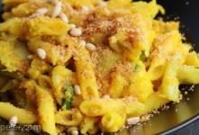 Saffron Scented Cauliflower Pasta