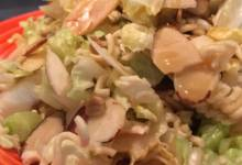 sally's napa cabbage salad