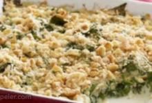 Saucy Spinach Bake