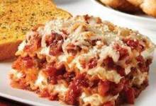 Sausage and Peppers Lasagna