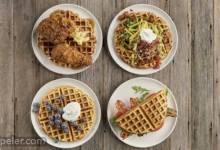 Savory Corn Waffles