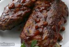 Scott Hibb's Amazing Whisky Grilled Baby Back Ribs