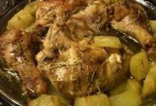 Scrumptious Baked Chicken and Potatoes