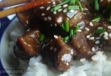 Sesame Beef Bites