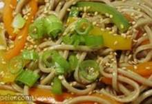 Sesame Udon Noodles