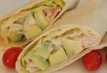 Shrimp and Avocado Wraps