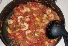 Shrimp and Veggie Stew