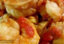Shrimp Primavera with Sun-Dried Tomatoes