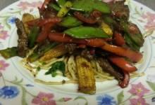 singapore beef stir-fry