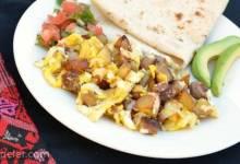 Single Skillet Hearty Breakfast