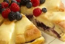 sister schubert's® berry cream cheese coffee cake