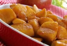 skillet apples with cinnamon