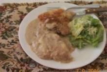 Skillet Chops with Mushroom Gravy