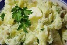 Skin-on Savory Mashed Potatoes