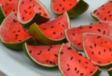 sliced watermelon jell-o® shots