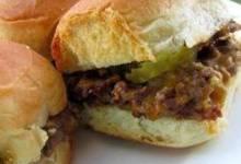 slider-style mini burgers