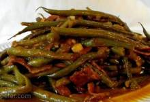 Slow-Cooked Green Beans
