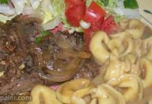 Slow Cooker Balsamic Beef and Onions