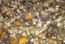 Slow Cooker Lentil Rice Soup