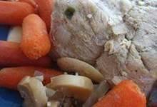 Slow Cooker Pork Tenderloin with Beer and Veggies
