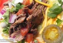Slow Cooker Shredded Venison for Tacos