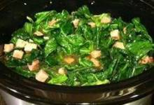 Slow Cooker Southern Collard Greens