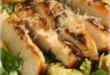 smoked chicken caesar salad with maille® dijon originale mustard