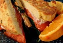 Smoked Salmon French Toast Sandwich