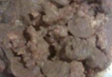Smoked Sausage in Mushroom Wine Gravy