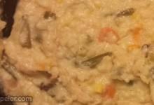 Smoked Turkey Rice Soup